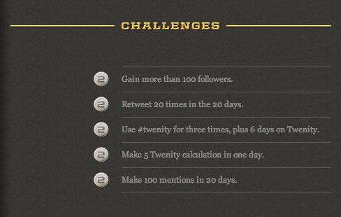 Twenity Dashboard Challenges
